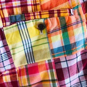 J. Crew Shorts - J. Crew city fit plaid patchwork Bermuda shorts 8